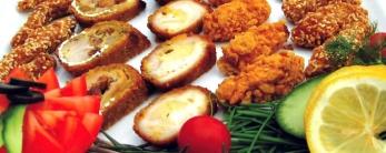 Панирани хапки от пилешко филе